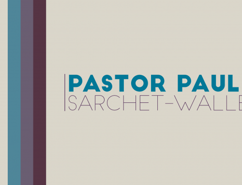 Pastor Paul Sarchet-Waller