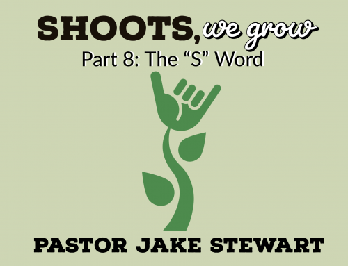 "Shoots We Grow pt.8 – The ""S""-word"