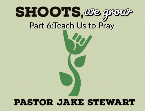 Shoots We Grow pt. 6 – Teach us to Pray