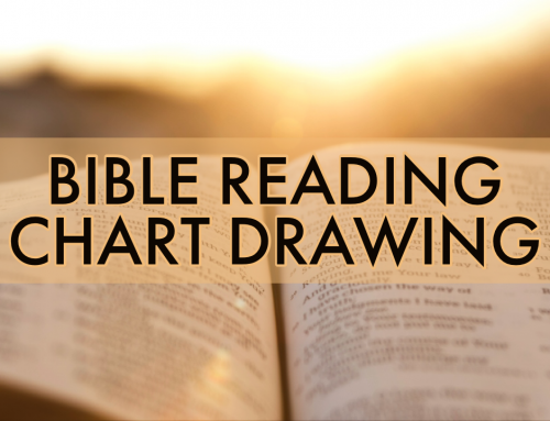 Bible Reading Chart Drawing