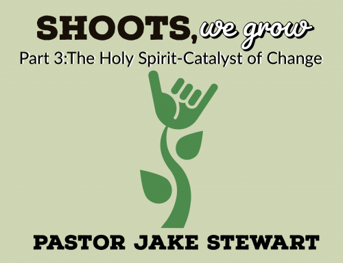Shoots We Grow – Part 3 The Holy Spirit a Catalyst of Change